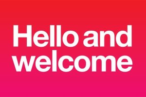 hello-and-welcome