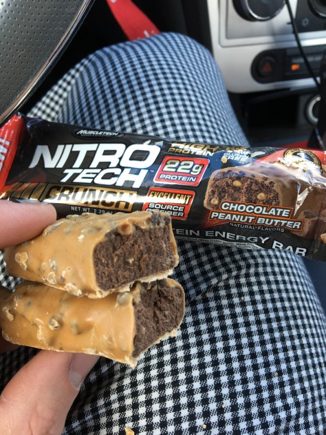 Muscletech Products Nitro Tech Crunch Bar Chocolate Peanut Butter 229 Oz